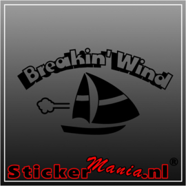 Breakin'wind sticker