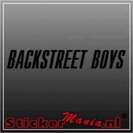 Backstreet boys sticker