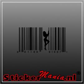 Paaldanseres code sticker