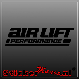 Airlift performance sticker
