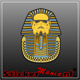 Stormtrooper egypt full colour sticker