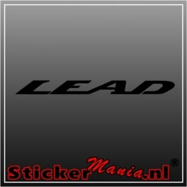 Honda lead sticker