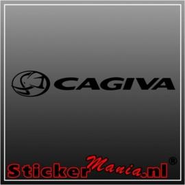 Cagiva sticker