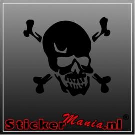 Skull 38 sticker