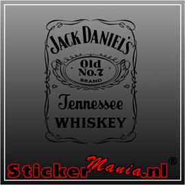 Jack Daniels 4 sticker