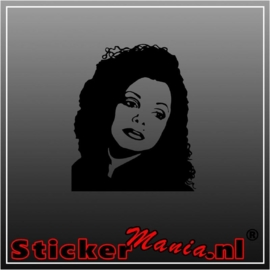 Janet jackson sticker