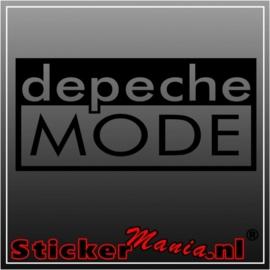 Depeche mode sticker