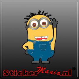 Minion 1 full colour sticker