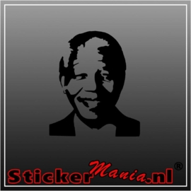 Nelson mandela sticker