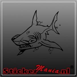 Haai 3 sticker