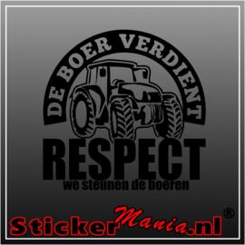 We steunen de boeren sticker