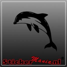 Dolfijn 3 sticker