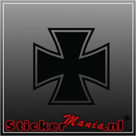 Iron cross 2 sticker