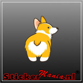 Hond 1 Full Colour sticker