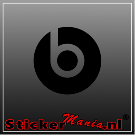 Beats audio sticker