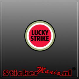 Luckystrike Full Colour sticker