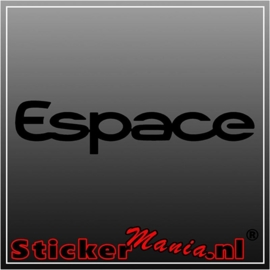 Renault espace sticker