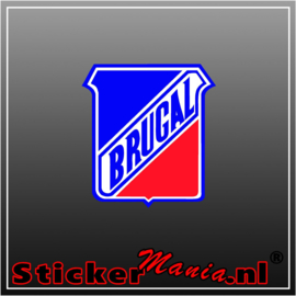 Brugal Full Colour sticker