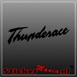 Yamaha thunderace sticker