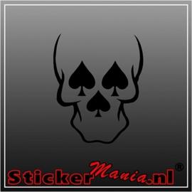Skull 46 sticker