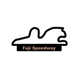 Fuji Speedway op voet