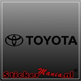 Toyota 1 sticker