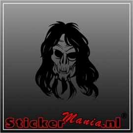 Skull 45 sticker