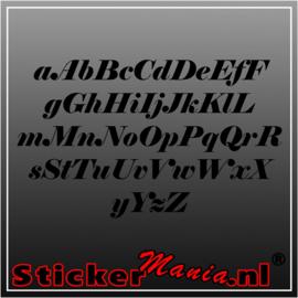 Eigen tekst lettertype Elephant