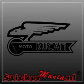 Ducati moto sticker