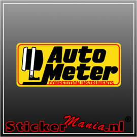 Autometer Full Colour sticker
