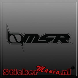 MSR sticker