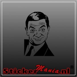 Mister bean sticker