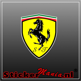 Ferrari Logo Full Colour sticker