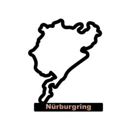 Nürburgring op voet