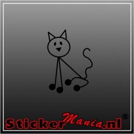 Sticky kat sticker