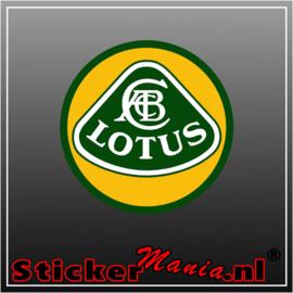 Lotus full colour sticker