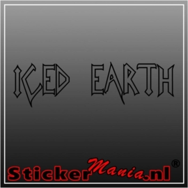Iced earth sticker