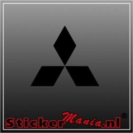 Mitsubishi logo sticker