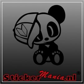 JDM panda 2 sticker