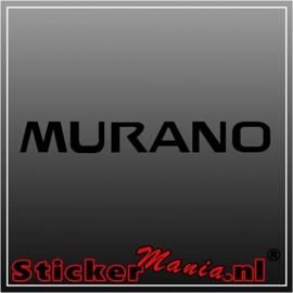 Nissan murano sticker