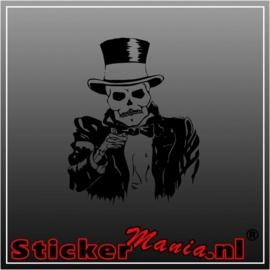 Skull 22 sticker