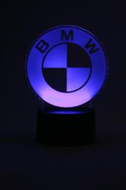 BMW logo led lamp