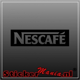 Nescafe sticker