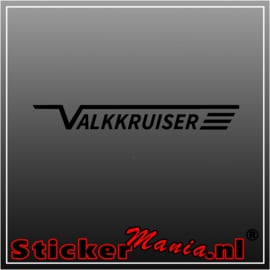 Valkkruiser sticker