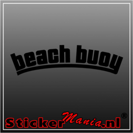 Beach buoy sticker
