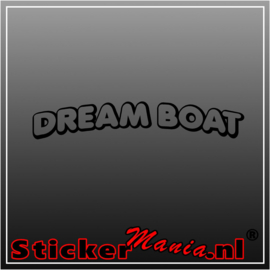Dream boat sticker