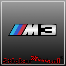 BMW M3 2 full colour sticker