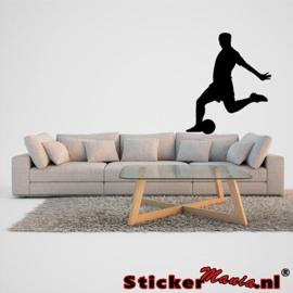 Muursticker voetbal 3