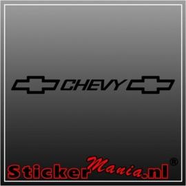 Chevy raamstreamer sticker