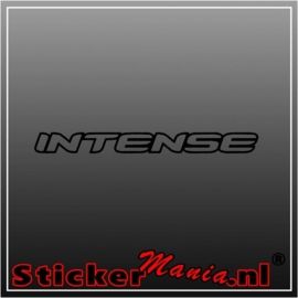 Intense sticker
